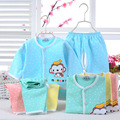 2016 Baby Girls Summer Cute Sets Newborn Kids Infant Clothing Casual Cotton Short Sleeve Shorts 2pcs Suits 0-24M Birthday Gift