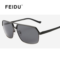FEIDU Aluminum Magnesium Polarized Sunglasses Men Driver Sun glasses Male Driving Mirror Female Outdoor Sports Eyewear For Men