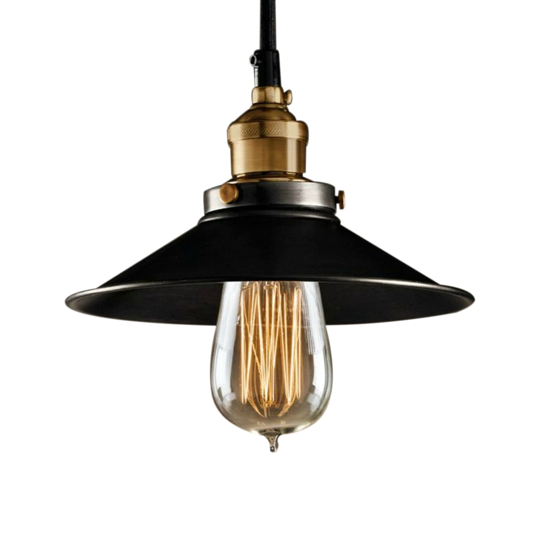 Vintage Pendant Lights Loft Pendant Lamp Retro Hanging Lamp Lampshade For Restaurant /Bar/Coffee Shop Home Lighting HITL