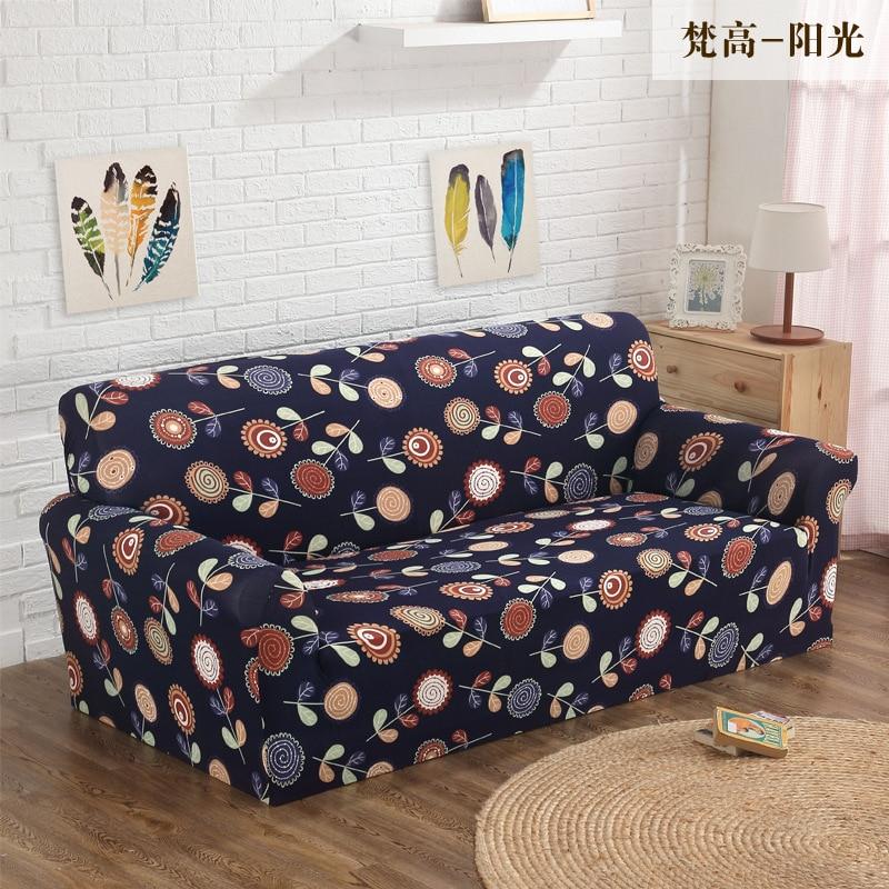 Высокое качество спандекс/полиэстер все включено упругие противоскольжения диван крышку одного/два/три/четыре -местный