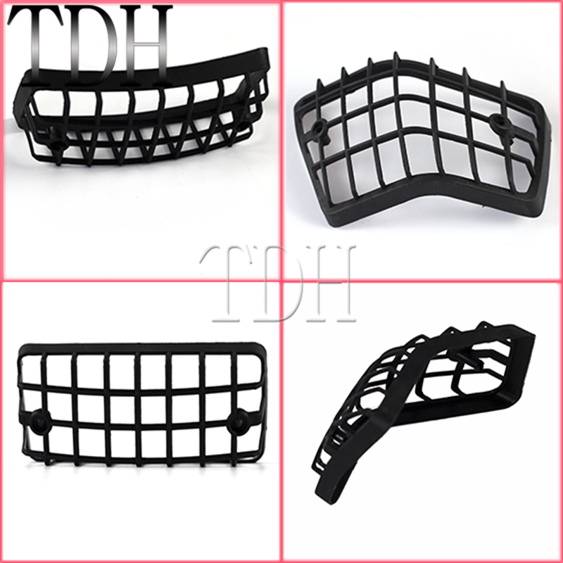 Black Motorcycle Plastic Front & Rear Turn Signal Light Grille Cover Guard Lens Grills Protector For Vespa PX VSX VNX LML Star