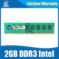Новый Бренд Оперативной Памяти 2 ГБ ddr3 1066 МГц dimm оперативной памяти ddr 3 2 ГБ PC3-8500 для Intel И AMD Настольных материнских плат пожизненная Гарантия