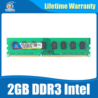 New Brand Memory Ram 2 Gb Ddr3 1066Mhz Dimm Ram Ddr 3 2gb PC3 8500 For