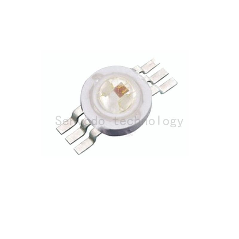 100X hohes Lumen 6pin 3W hohe Leistung rgb führte Lampenkorne mit - Leuchten Zubehör