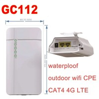 4G CPE Lte Wireless industrial outdoor waterproof wifi Router GC112