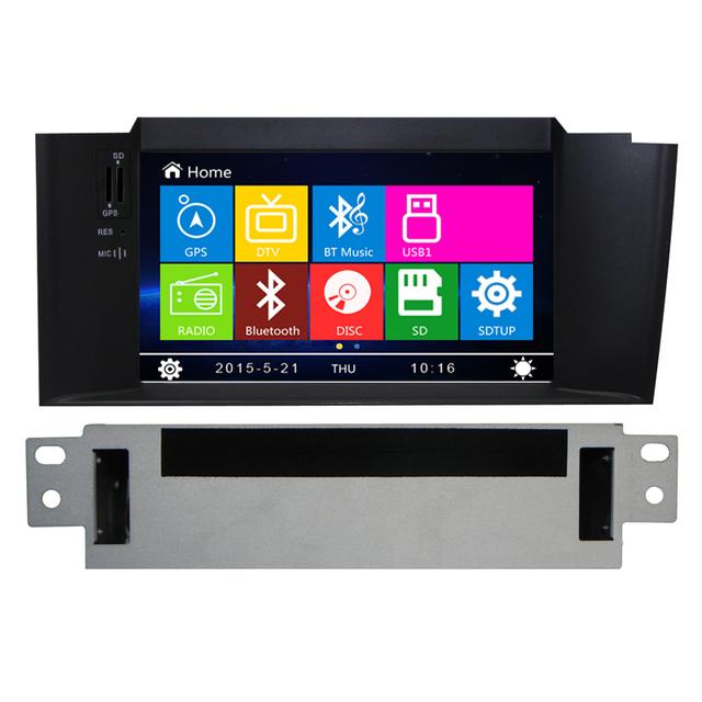 HD 800*480 Mueca de Dolor 8.0 Del Coche Reproductor de DVD Estéreo del coche Para Citroen C4 2011 2012 2013 2014 Auto Radio RDS Audio Video GPS Navitel navegación