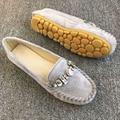 Venda quente Novas Mulheres de Couro Genuíno Sapatos Mãe Mocassins Mocassins Condução Apartamentos Casuais Calçados Femininos Confortáveis Planas