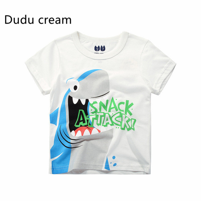 2d7606a2e67e Children s T Shirt Boys T-shirt Baby Clothing Little Boy Summer Shirt Tees  Designer Cotton Cartoon Clothes 1-6Y
