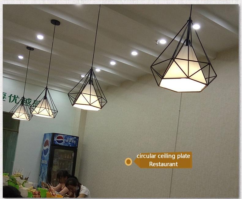 Pendant Lights Ceiling Lights & Fans Zoyabell Vintage Pendant Light Lamp Modern Iron Dinning Restaurant Industrial Decor Retro Design Lamp Pendant Hanging Light Rapid Heat Dissipation