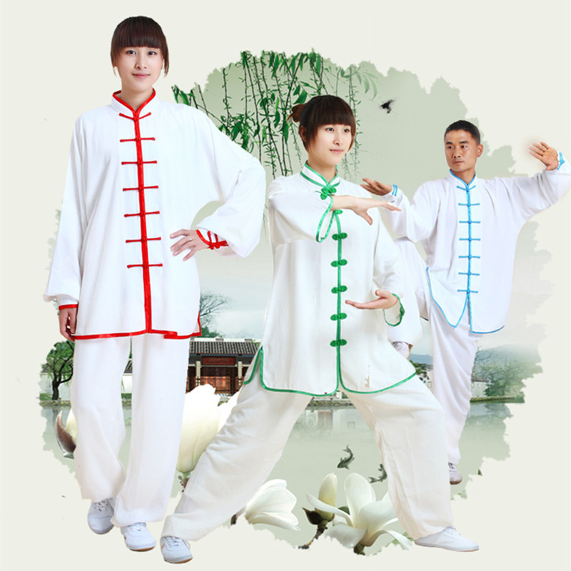Kung Fu Chinese  Suit Tai Chi Clothing Cotton Martial Art Uniform Wushu Taiji Outdoor Walking Morning Sprots Taijiquan Sets