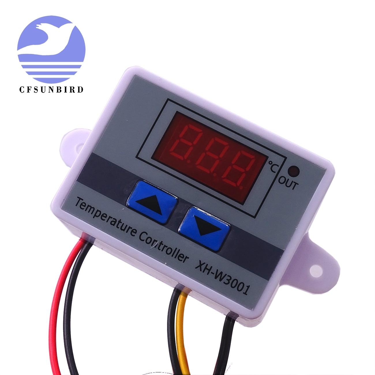 10 StÜcke 12 V Digitale Steuerung Temperatur Mikrocomputer Thermostat Thermometer Neue Temperaturregler Beste Qualität W3001