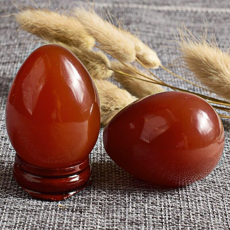 Jade Egg unDrilled Жаратылыстанған кинжал Yoni - Денсаулық сақтау - фото 4