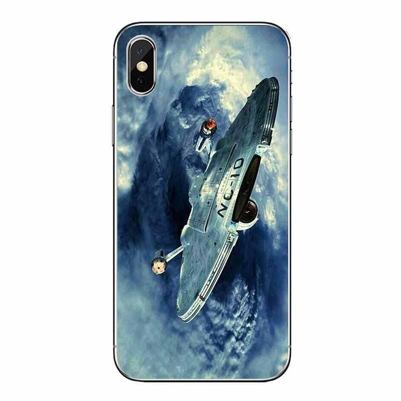 Star Trek космический корабль искусства плакат прозрачный мягкий чехол для LG G7 Q6 Q7 Q8 Q9 V30 X Мощность 2 3 чехол для OnePlus 3t 5 T 6 T