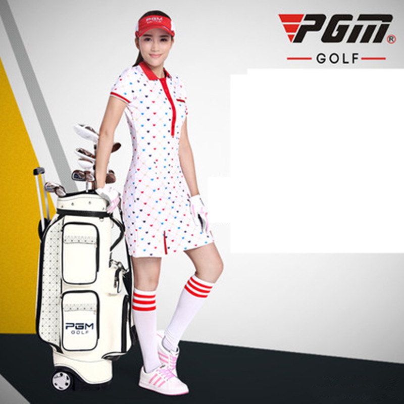 2017 new! PGM Golf Pack Lady Tugboat Bag High End Korean version golf bag hot pgm golf clothes pack men s double shoes bag extra large capacity bag pack portable clothes shoes handbag free shipping