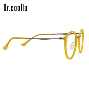 Image 3 - Fashion Designer Ultralight Yellow Round Circle Optical Sunglasses Eye Glasses Frame For Women Men