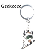The Last Airbender Cartoon cute dog animal bag Charm Keychain Keyrings Gift Party Favors Keys Pendants jewelry decorations J0426