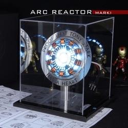 Мстители 1:1 Железный человек Arc реактора фигурку MK1 Ironman реактора Тони Старк дуги Реактор Комплектующие для самостоятельной сборки модели иг...
