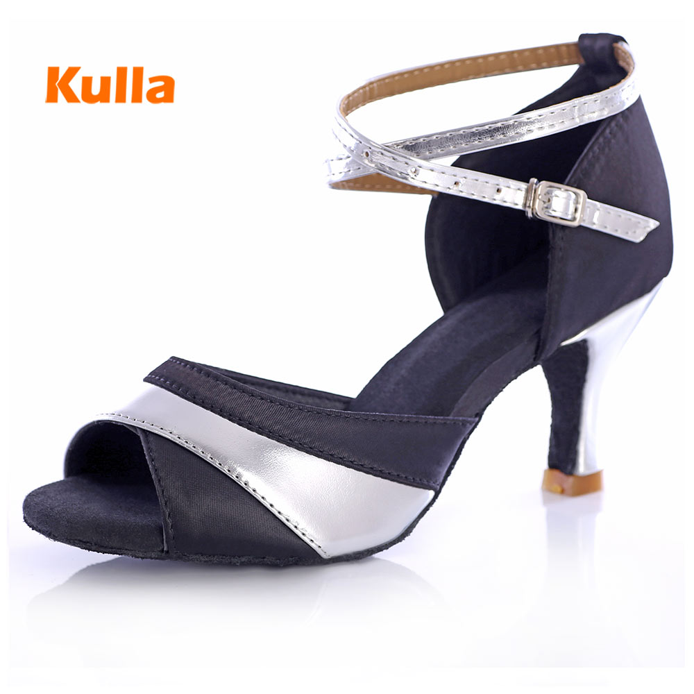 High Quality Ladies Latin Shoes 5cm/7cm High heels Salsa Tango Dance Shoes Professional Ballroom Dancing Shoes for Women GirlHigh Quality Ladies Latin Shoes 5cm/7cm High heels Salsa Tango Dance Shoes Professional Ballroom Dancing Shoes for Women Girl