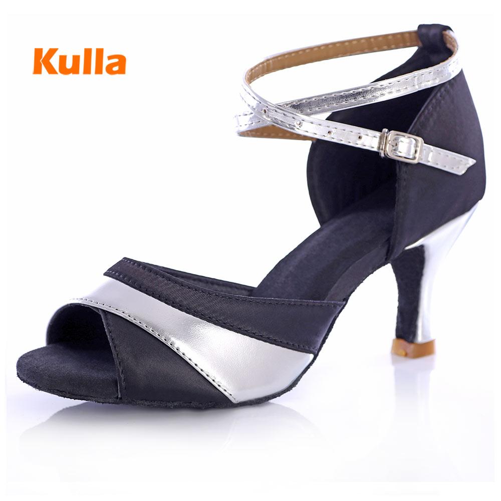Women Latin Dance Shoes 5cm/7cm High Heels Salsa Tango Dance Shoes Professional Ballroom Dancing Shoes For Women Girls Wholesale