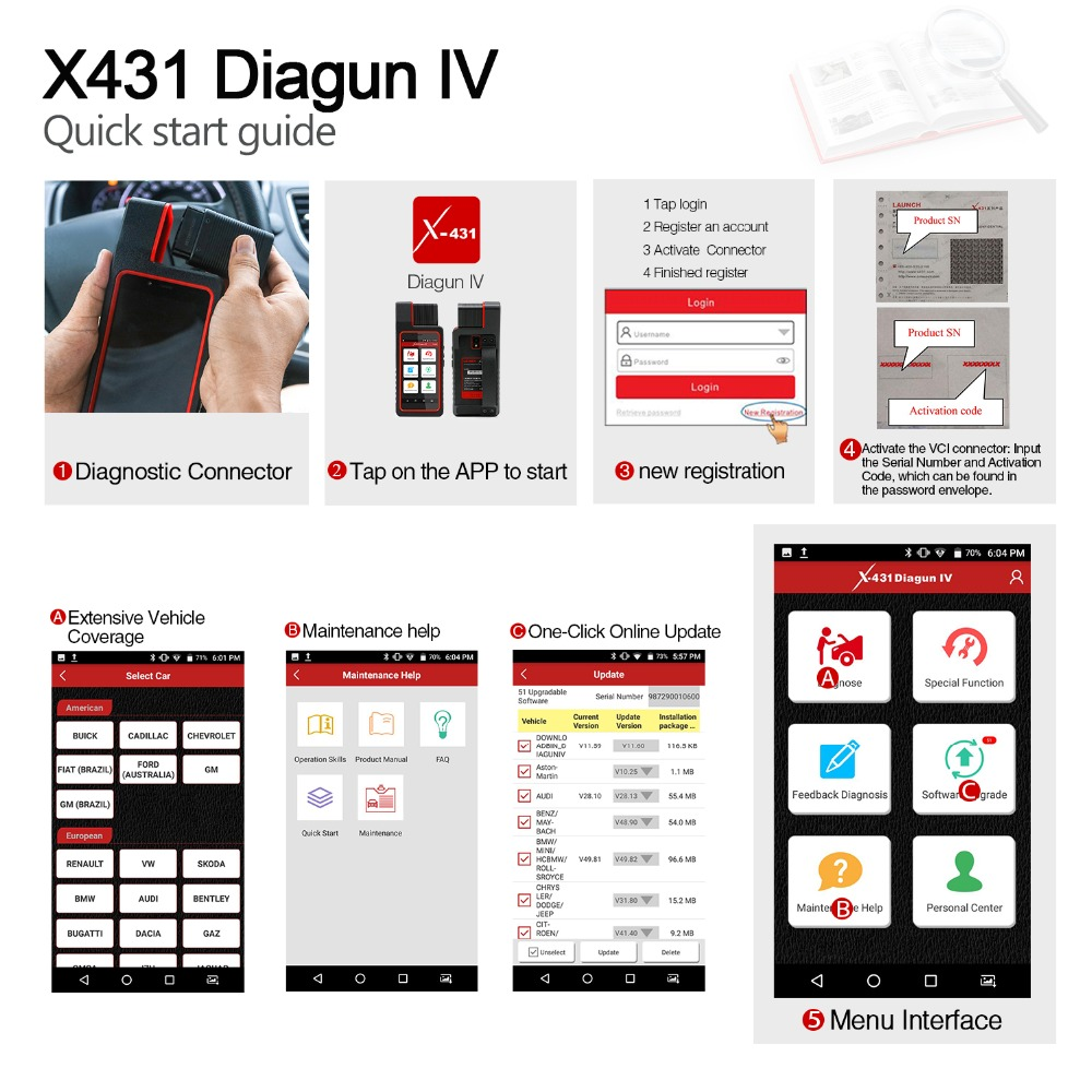 Launch X431 Diagun IV (6)