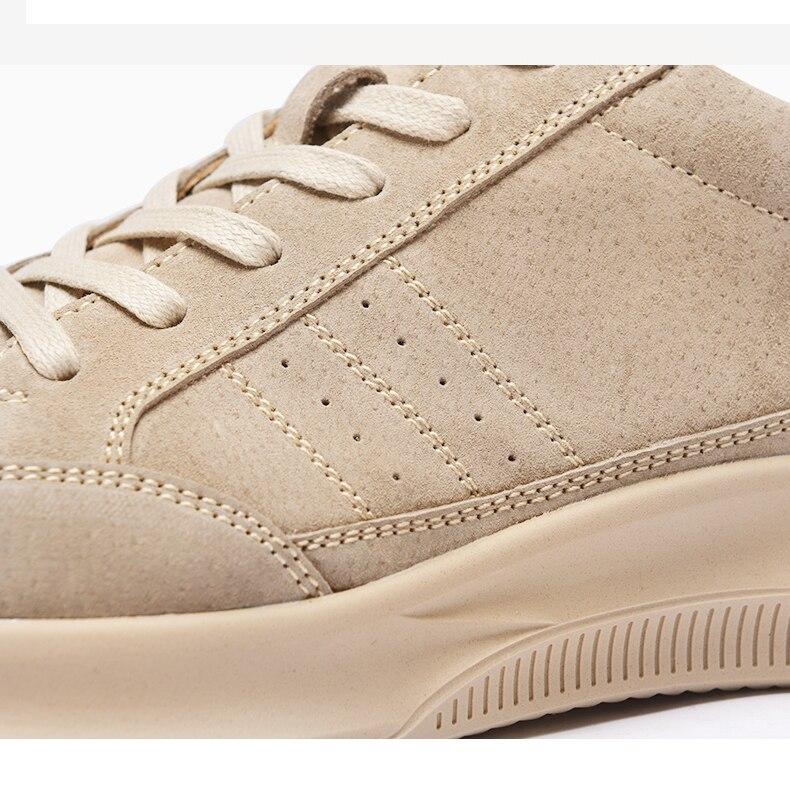 Primavera Z Moda Couro Sapatos Zs555 Dos Suo Respirável Genuína Masculinos Nova Bege Beige Confortáveis Qualidade De Homens Casuais Alta w1qwAEr