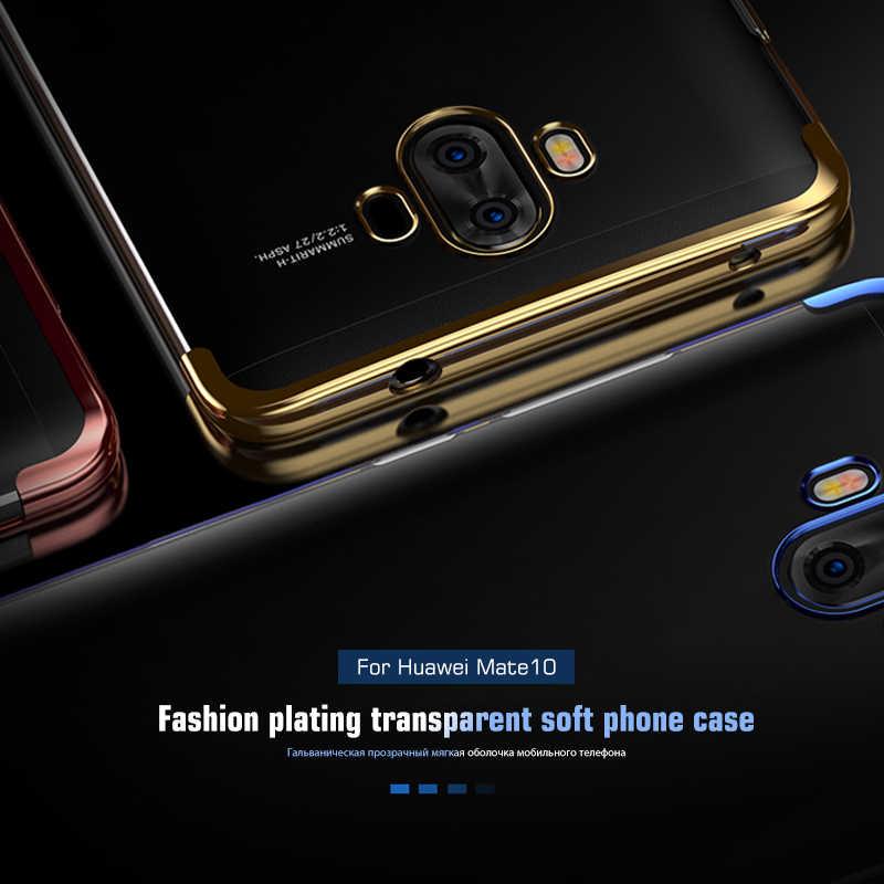 Силиконовый чехол для телефона huawei mate 20 Lite mate 10 Pro mate 20 X модная прозрачная Обложка из полиуретана для huawei mate 20 Pro Capa
