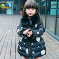 Children Clothing Fashion Girls Clothes Jacket Cotton-Padded Female Child Thickening Wadded Jacket  Girls Winter Coat