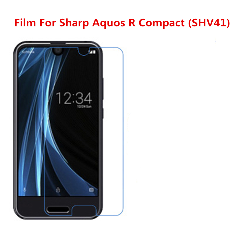5 Pcs Ultra Thin Clear HD LCD Screen Guard Protector Film With Cleaning Cloth Film For Sharp Aquos R Compact (SHV41).