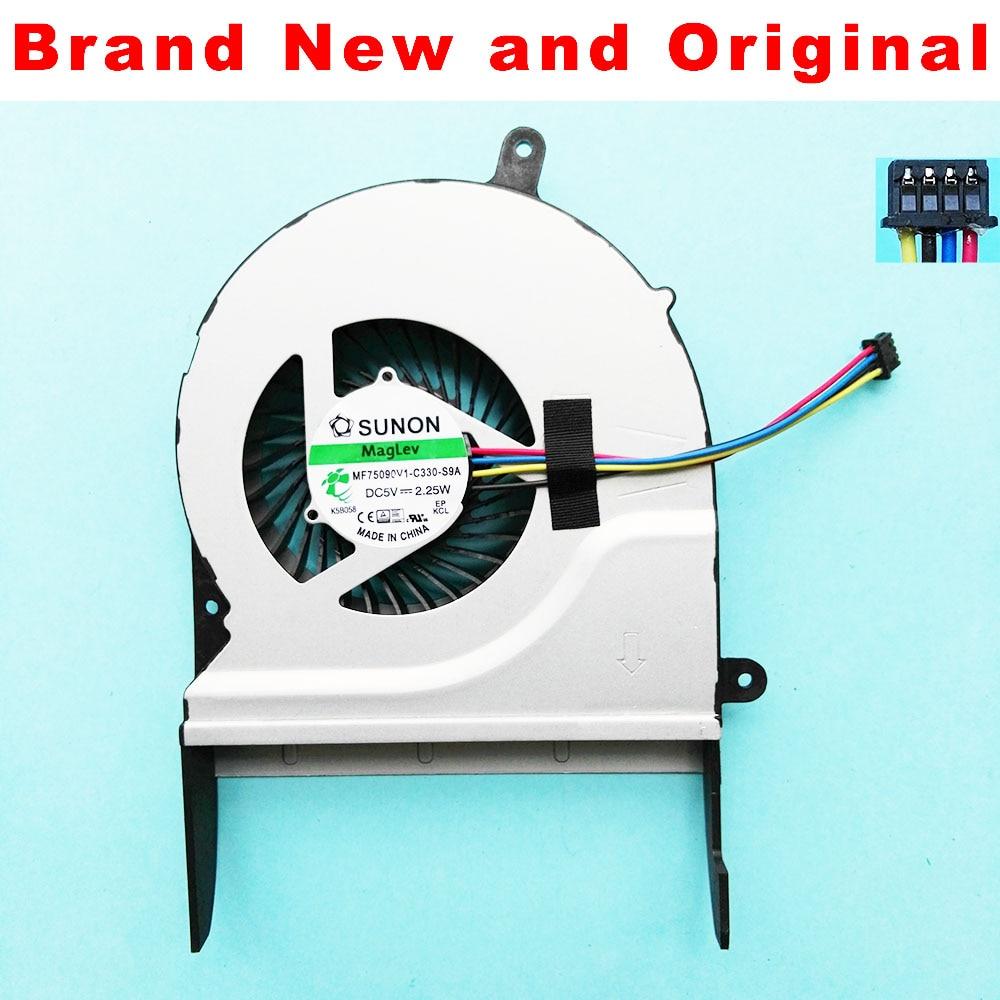 New CPU Fan For ASUS N551 N551J N551JK N551JM N551JV N551JX N551JK N551JQ G58 G58J cpu cooling fan Cooler MF75090V1-C330-S9A