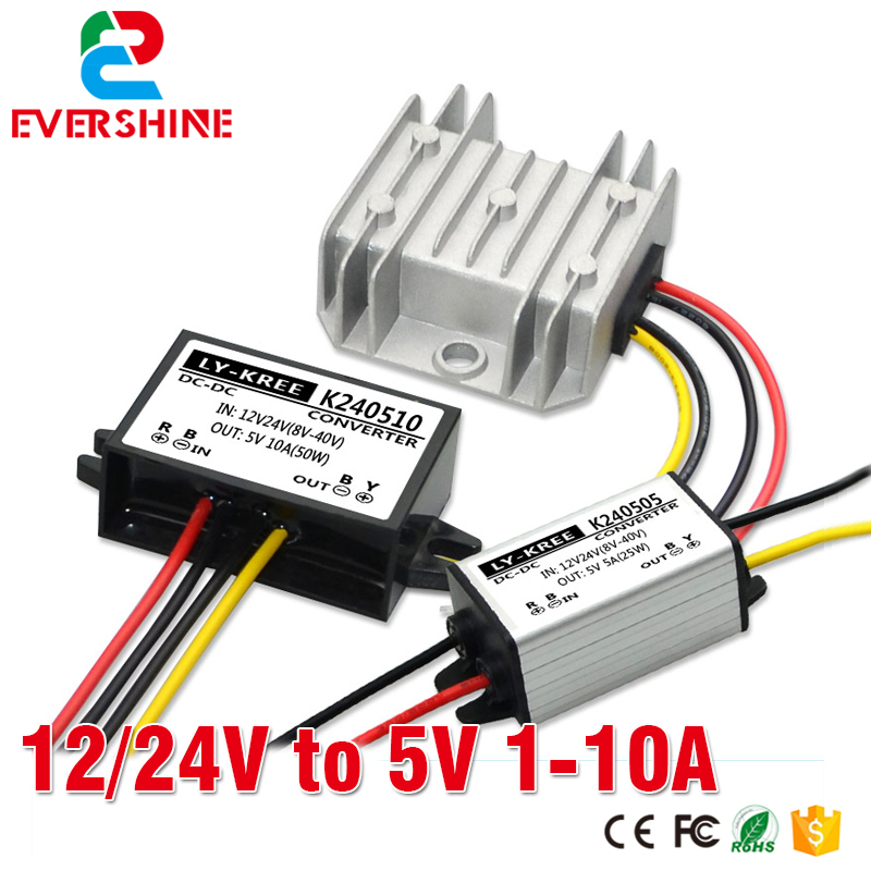 12V to 5V power converter <font><b>24V</b></font> to 5V buck <font><b>module</b></font> <font><b>24v</b></font> to 5v power <font><b>module</b></font> 1A 2A 3A 5A 6A 10A image