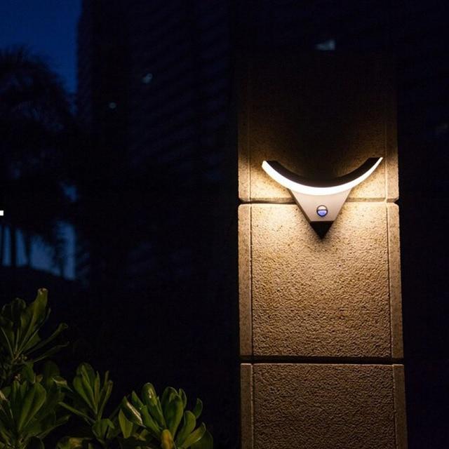 Intellisense garden lights led outdoor light modern wall lamp intellisense garden lights led outdoor light modern wall lamp simple waterproof terrace wall light solar aloadofball Images