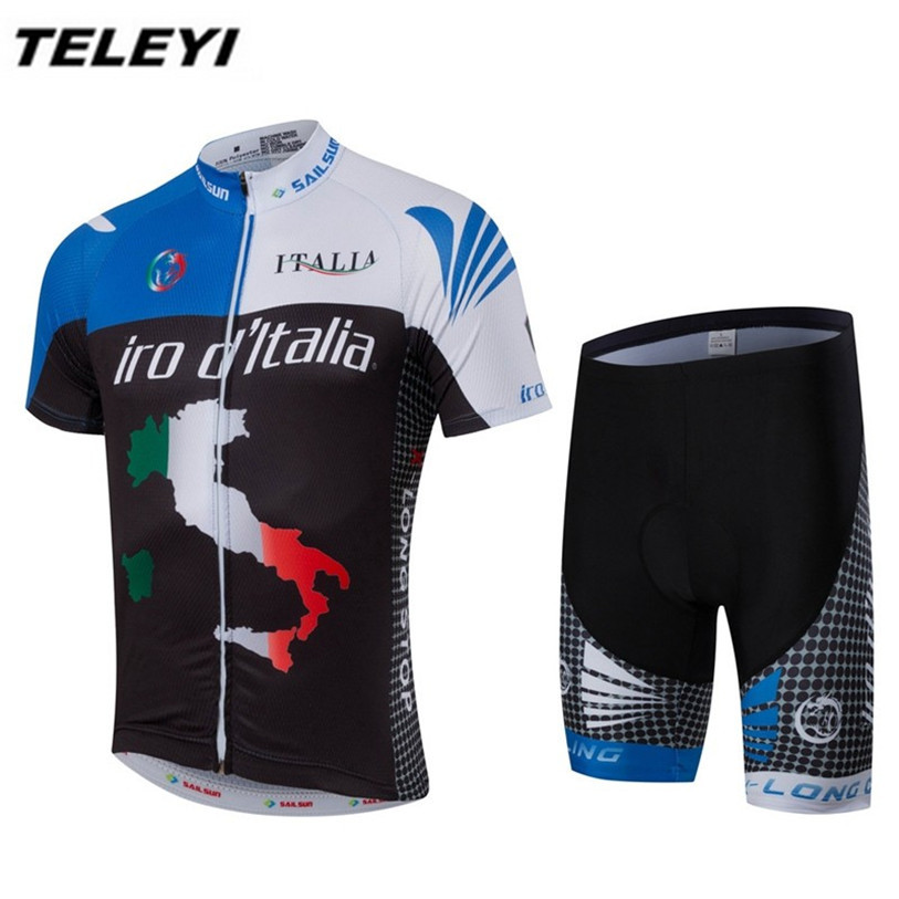 New Blue Pro Bike Jersey Men Cycling Clothing Clothes Ropa Ciclismo Bicycle Jersey shorts Set MTB Top Bicycle Shirts Quick Dry