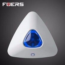 Треугольники Беспроводной flash сирена Рог строб сирена для G90B Wi-Fi GSM GPRS домашний сигнал тревоги Системы комплект безопасности