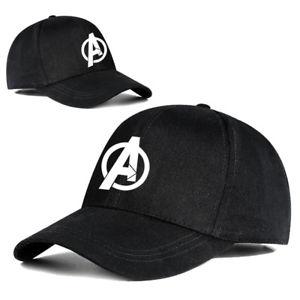 The Avengers 3 Infinity War Hat Black Adjustable Snapback Cosplay Baseball Cap