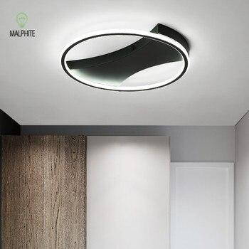 Moderne Led Schwarz Hängen Licht Decke Leuchten Led Lampe ...