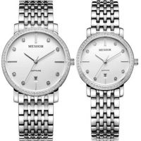 (MESHOR) fashion leisure steel lovers watch MS.5018M.16.117 / MS.5018L.16.117