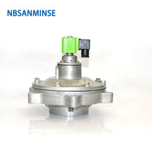 NBSANMINSE QD-Y Diaphragm Valve Pulse jet  Valve SBFEC Type For Bag dust collector system G1-1/2 G2 G2-1/2 G3 G4 nbsanminse qg y 25 replaced goyen g1 diaphragm valve dust collector pulse jet valve solenoid valve