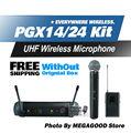 Pgx PGX14 PGX24 бета увч беспроводной микрофон караоке система BodyPack BETA58 ручной микрофон и без коробки
