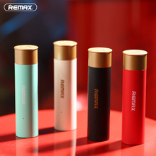 Remax Mini Bullet 2500mAh Powerbank Micro USB Portable Universal Power Bank 2.1A 18650 Battery Charger for Iphone samsung XiaoMi