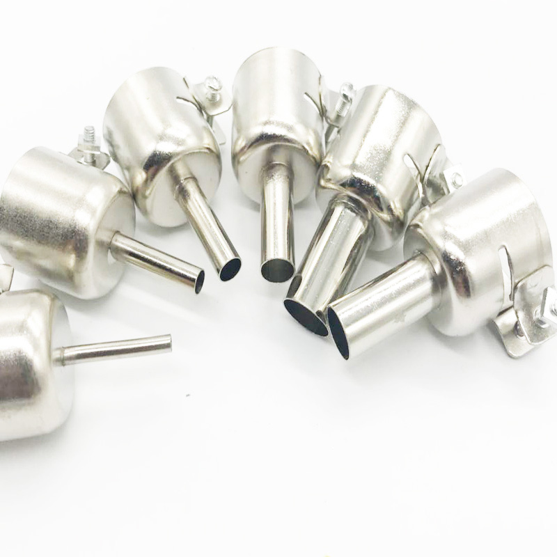 Circular Nozzles For Hot Air Soldering Station 3/5/6/8/10/12mm Fit For 858A 858D 6Pcs /set