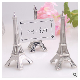 PASAYIONE Tower Message Clip Wedding Decoration Promotion Gifts Stand Place Card Holder Table Number for Event Decor Tablewares