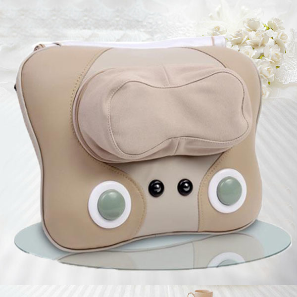 Free Shipping NEW House&Office Chair Back Lumbar Massage Cushion For Sale 2016 easternisation war