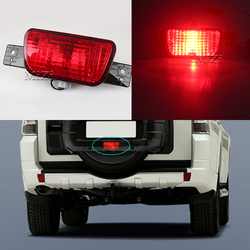 Luz de parachoques trasero para Mitsubishi Pajero Shogun, lámpara de repuesto para neumático trasero, antiniebla, 2007, 2008, 2009, 2010, 2011, 2012, 2013, 2014, 2015