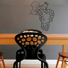 Bunch of Grapes Fruits Wall Stickers Art Mural Kitchen Cafe Home Interior Design Wall Vinyl Decal Sticker