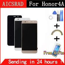 Ограниченное предложение Aicsrad тестирование работы ЖК-дисплей Дисплей Сенсорный экран планшета в сборе с рамкой для Huawei Honor 4A Y6 scl-l01 scl-l21 scl-l04
