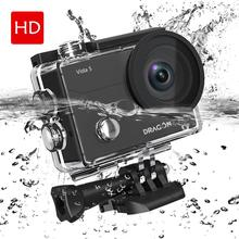 Dragon Touch 4K Action Camera Vista 5 WiFi Waterproof Sport Camera with Touch Screen 2 Batteries and Mounting Accessories Kit camera con vista повседневные брюки