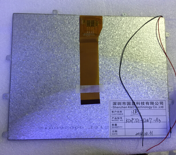 KD097D1-50NT-A3 Display screen