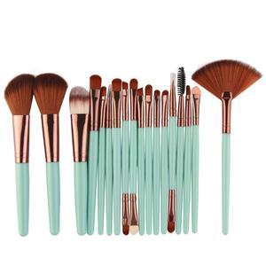 Image 3 - 18 stücke MAANGE Make Up Pinsel Set Werkzeug Kosmetische Pulver Lidschatten Foundation Blush Blending Schönheit Make Up Pinsel Maquiagem