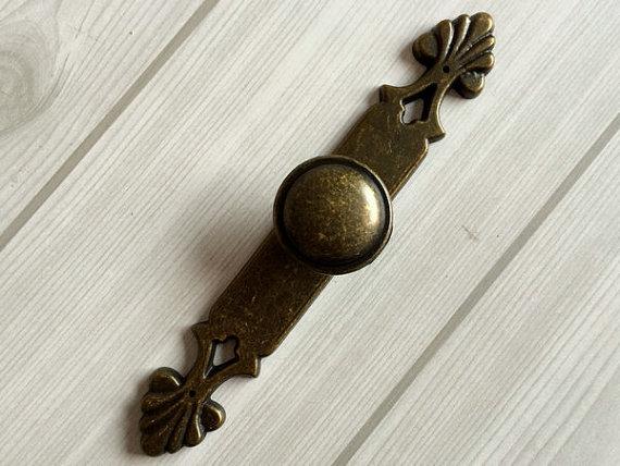Antique Bronze Dresser Knobs Drawer _ Knob Knob ...