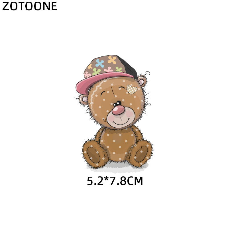 """ZOTOONE железные нашивки на одежду Diy полоски 3D аппликация """"Девочка"""" теплопередача для украшения из ткани наклейки для детей G - Цвет: 1117"""